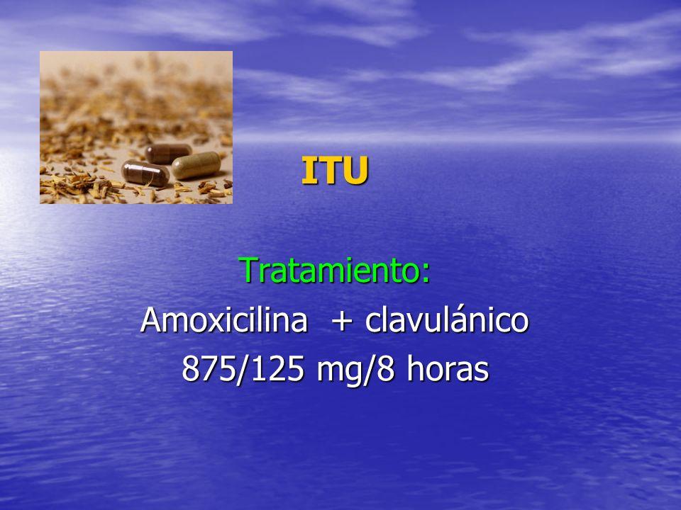 Amoxicilina + clavulánico