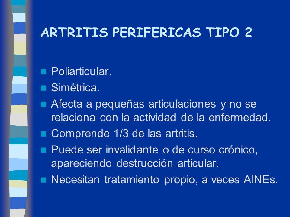 ARTRITIS PERIFERICAS TIPO 2