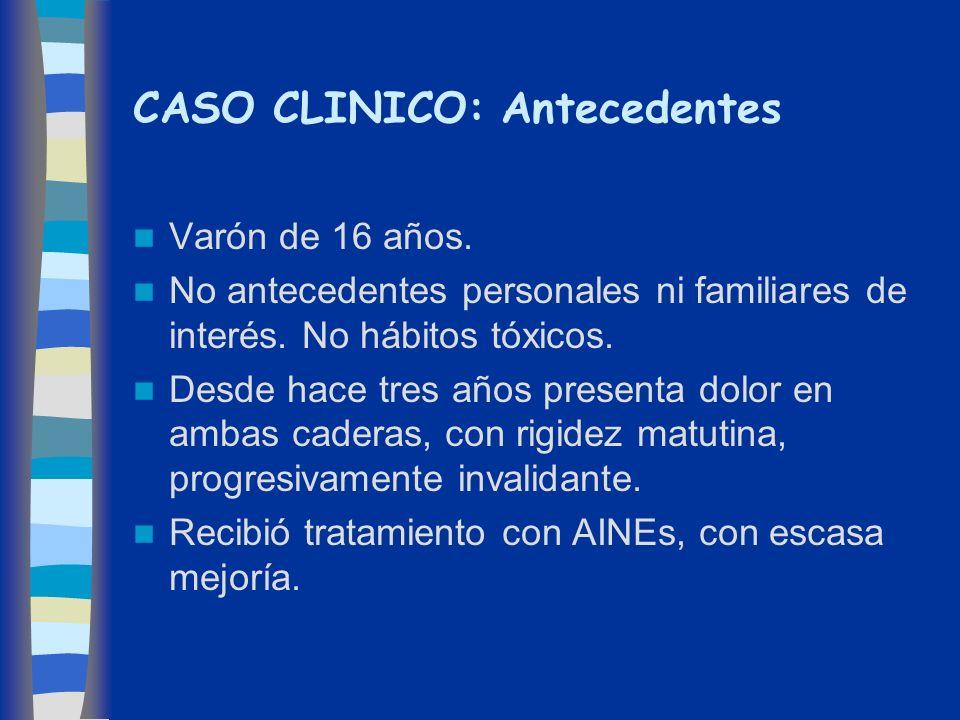 CASO CLINICO: Antecedentes