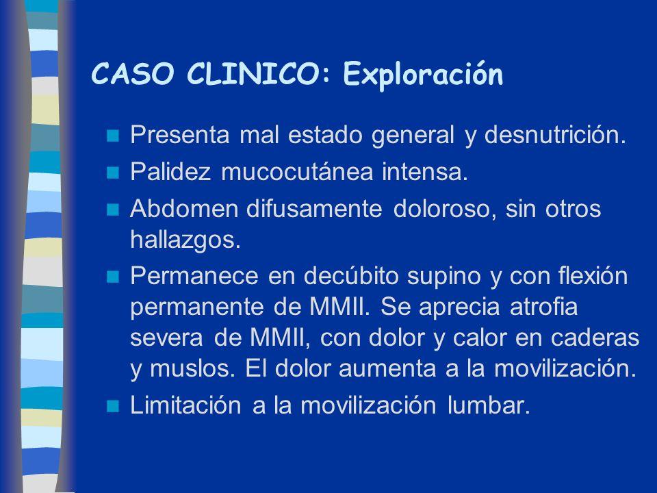 CASO CLINICO: Exploración