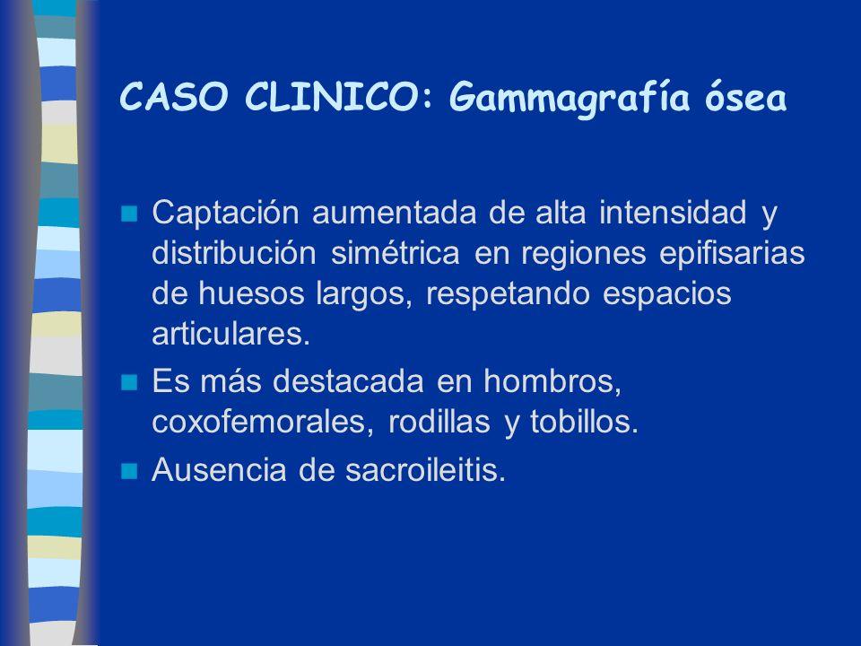 CASO CLINICO: Gammagrafía ósea