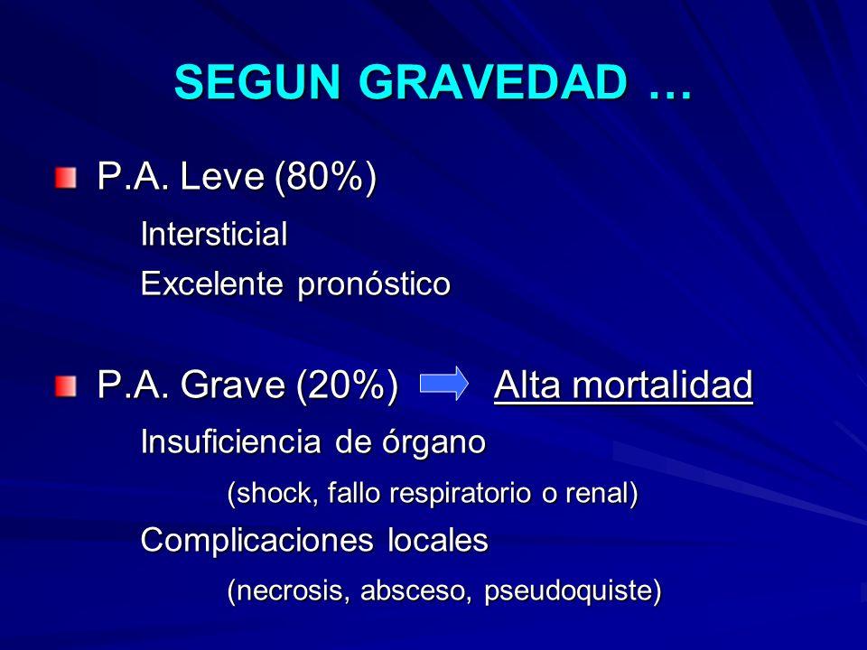 SEGUN GRAVEDAD … P.A. Leve (80%) Intersticial