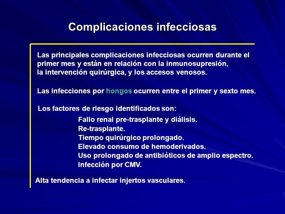 Complicaciones infecciosas
