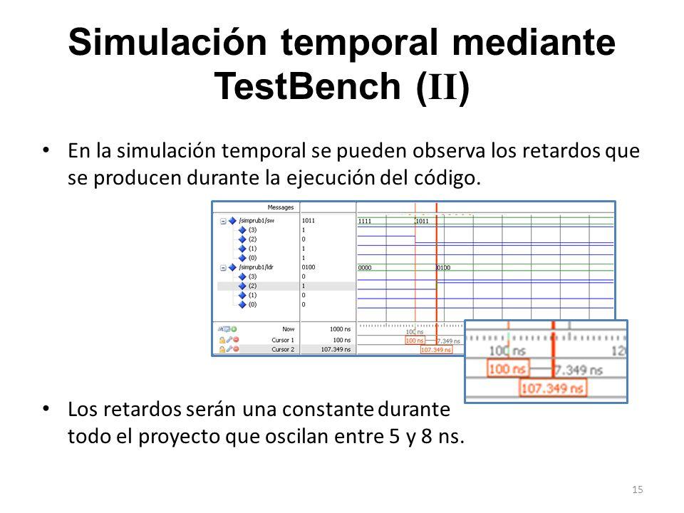 Simulación temporal mediante TestBench (II)