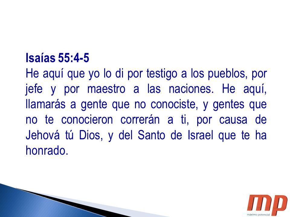 Isaías 55:4-5