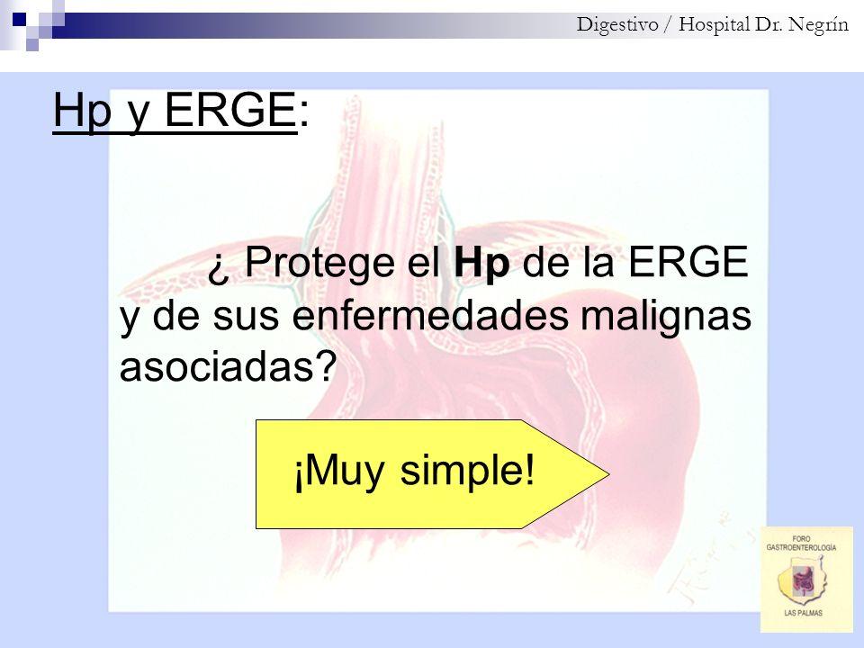 ¿ Protege el Hp de la ERGE