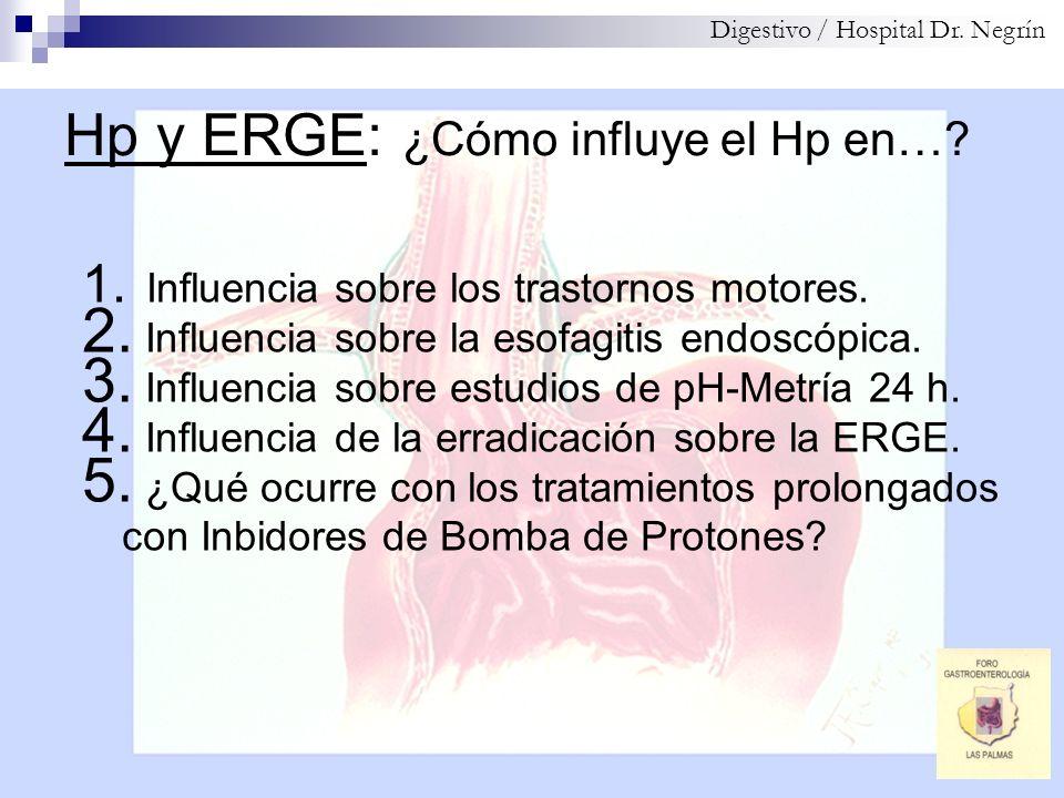 Hp y ERGE: ¿Cómo influye el Hp en…