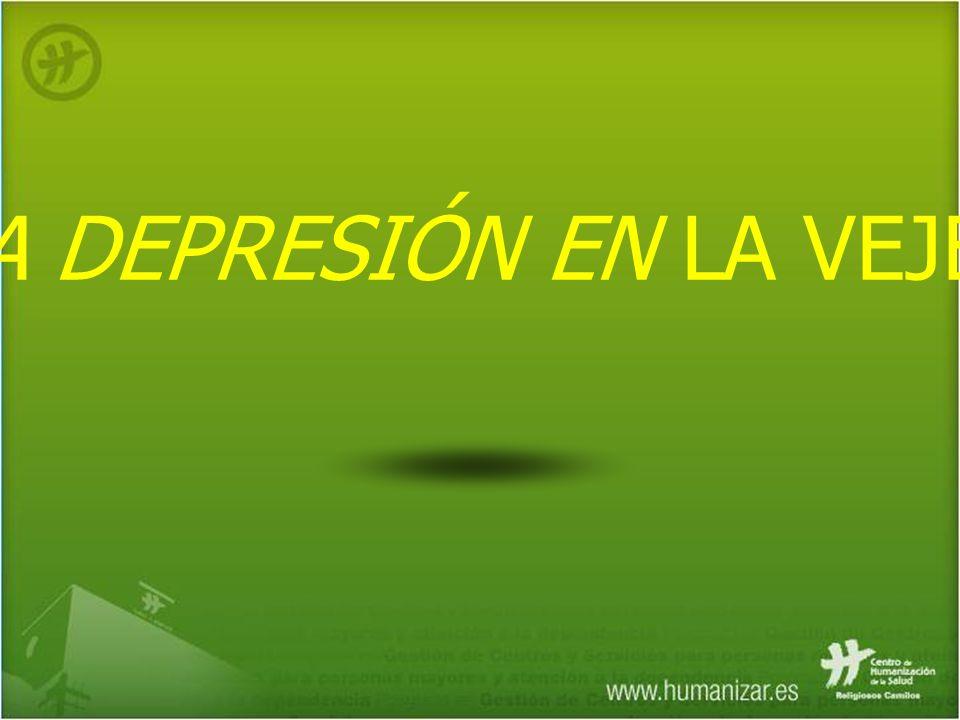 LA DEPRESIÓN EN LA VEJEZ