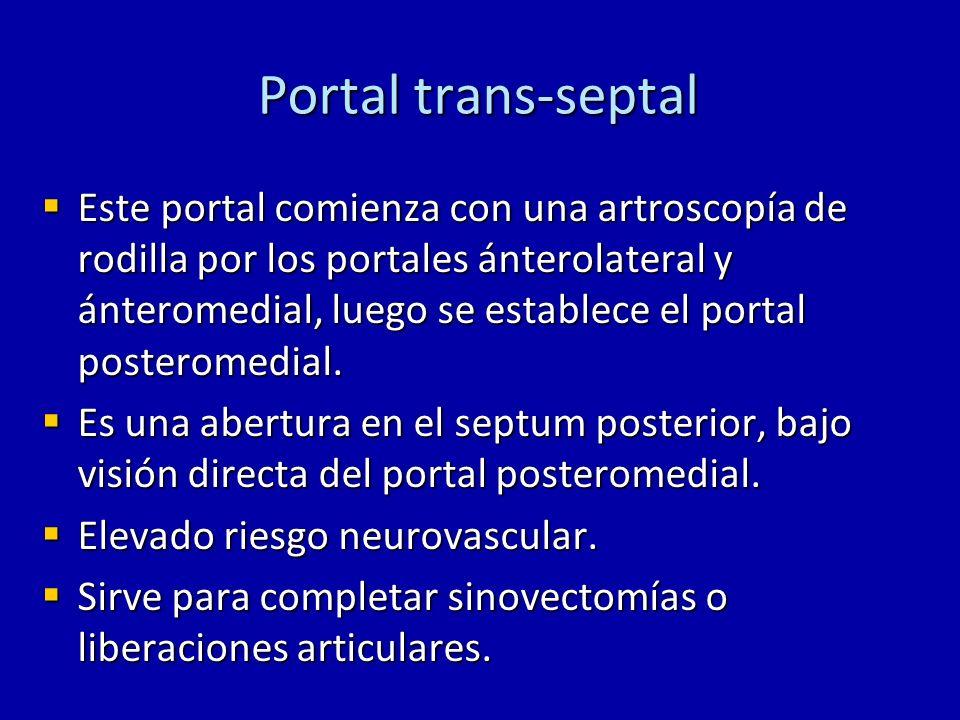 Portal trans-septal