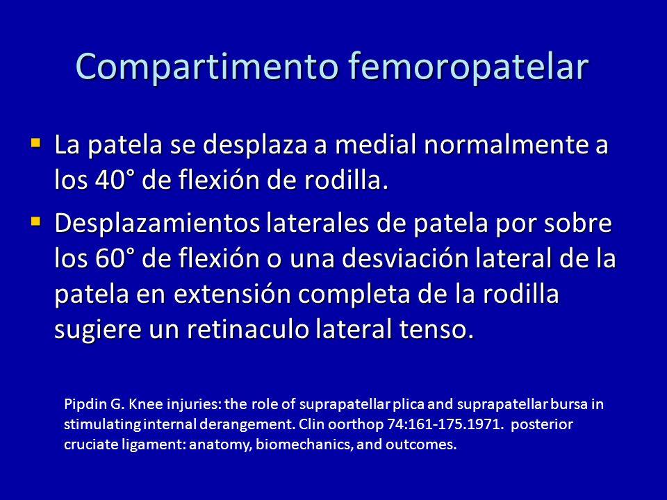 Compartimento femoropatelar