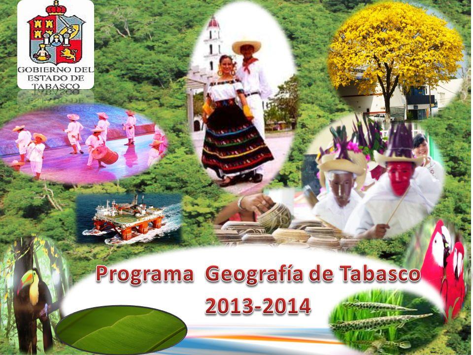 Programa Geografía de Tabasco