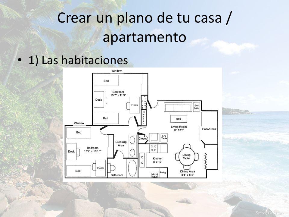 Crear un plano de tu casa / apartamento