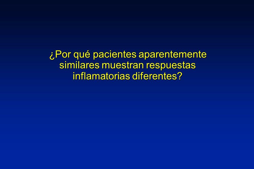 ¿Por qué pacientes aparentemente similares muestran respuestas inflamatorias diferentes