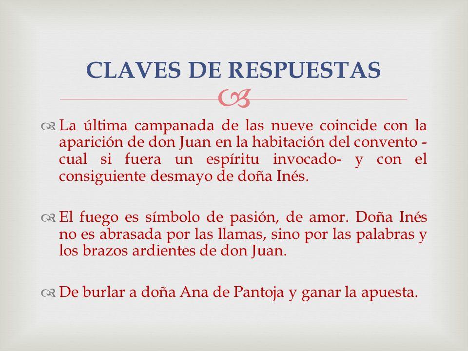 CLAVES DE RESPUESTAS