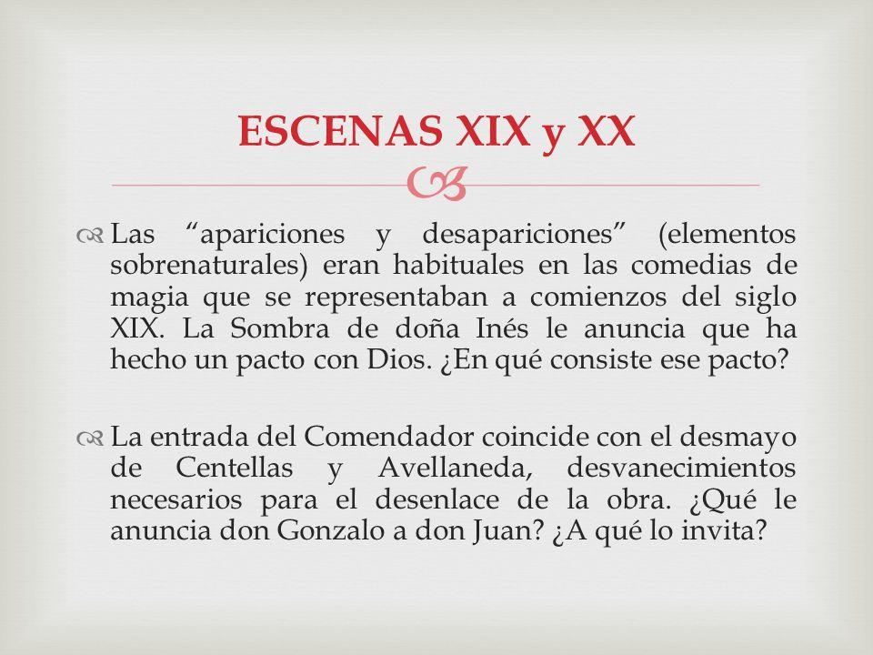 ESCENAS XIX y XX