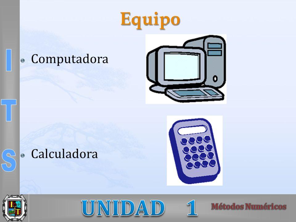 Equipo Computadora Calculadora