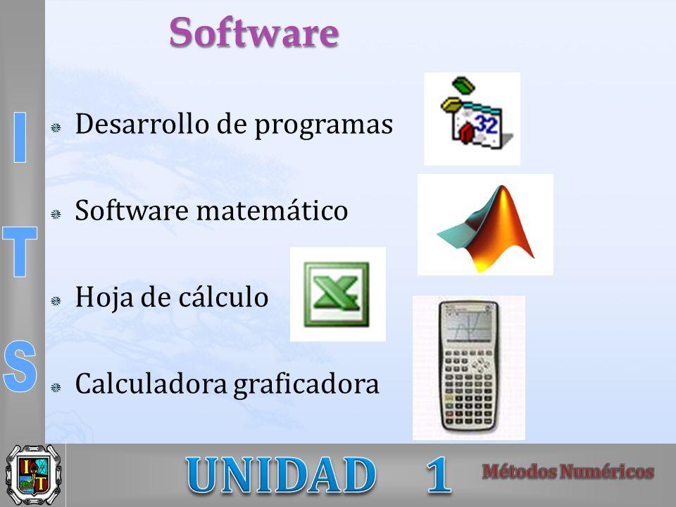 Software Desarrollo de programas Software matemático Hoja de cálculo