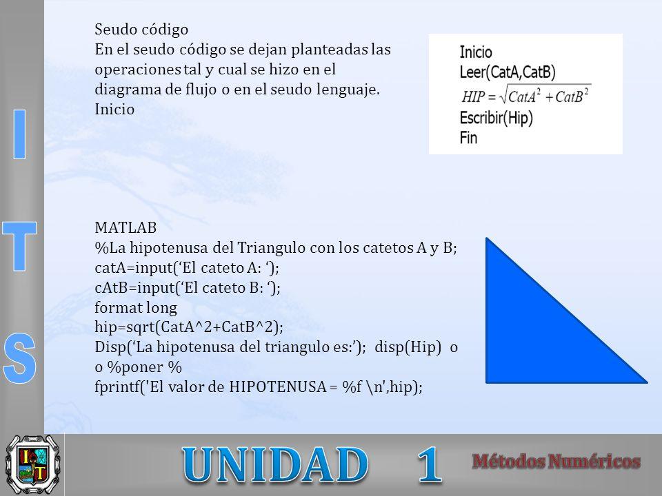 Seudo código En el seudo código se dejan planteadas las operaciones tal y cual se hizo en el. diagrama de flujo o en el seudo lenguaje.