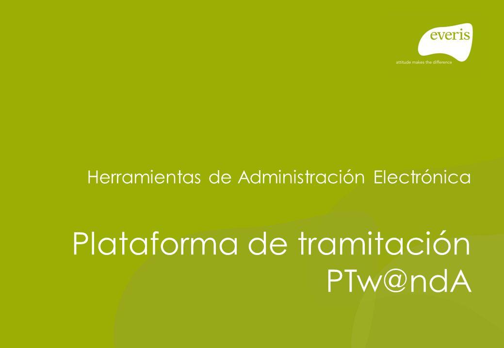 Plataforma de tramitación PTw@ndA