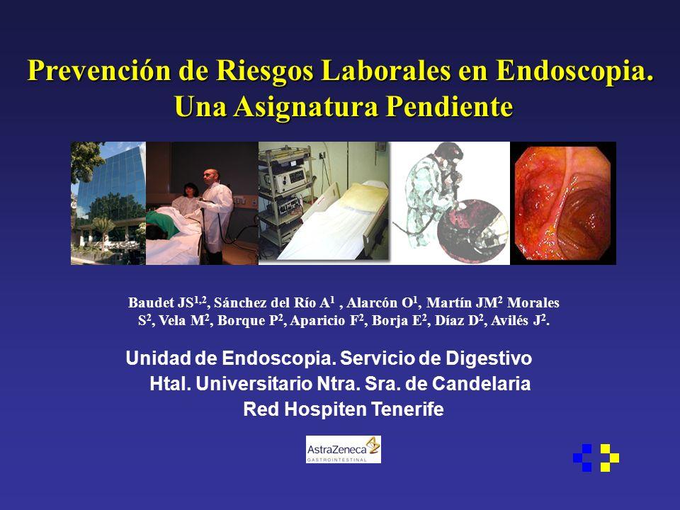 Prevención de Riesgos Laborales en Endoscopia.