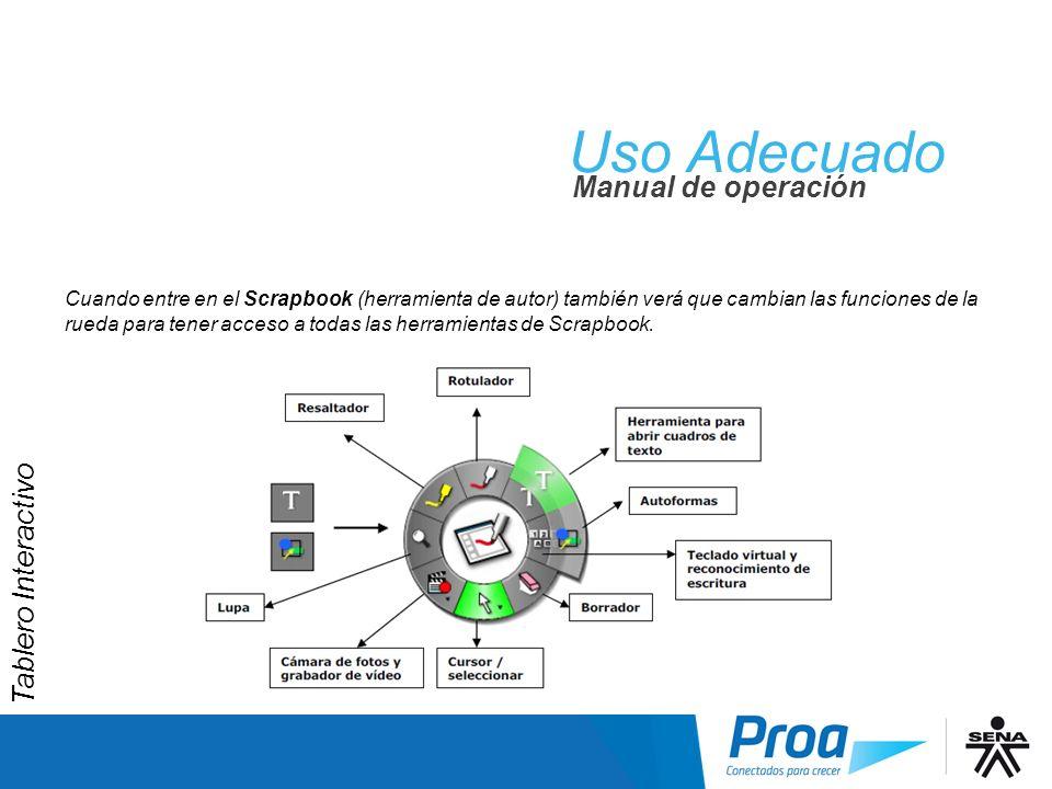 UA: Herramientas del Scrapbook