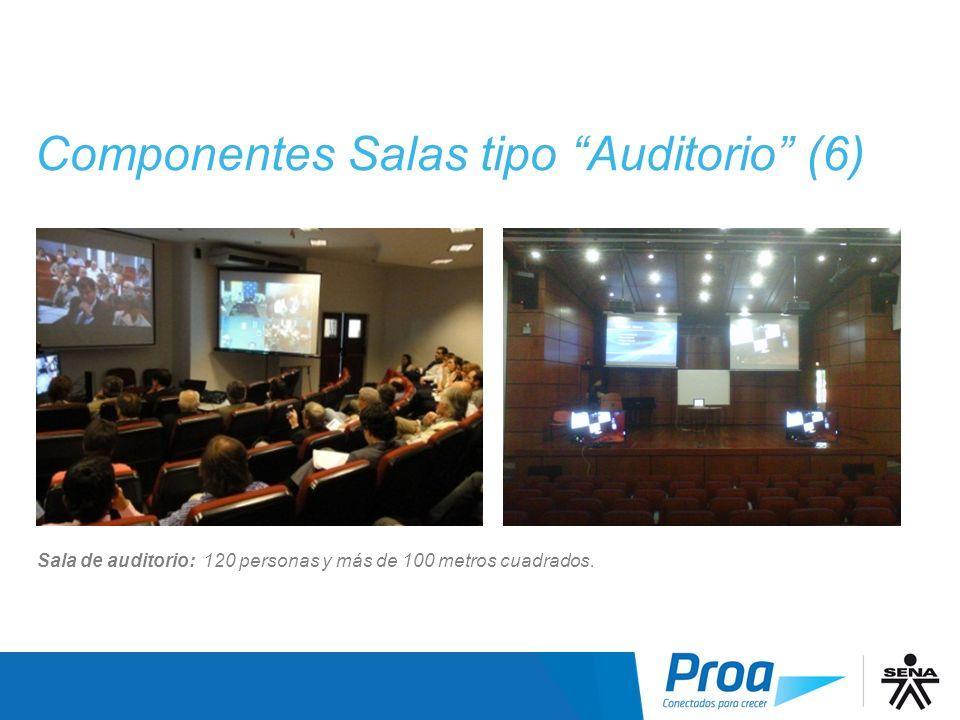 Componentes Salas tipo Auditorio (6)