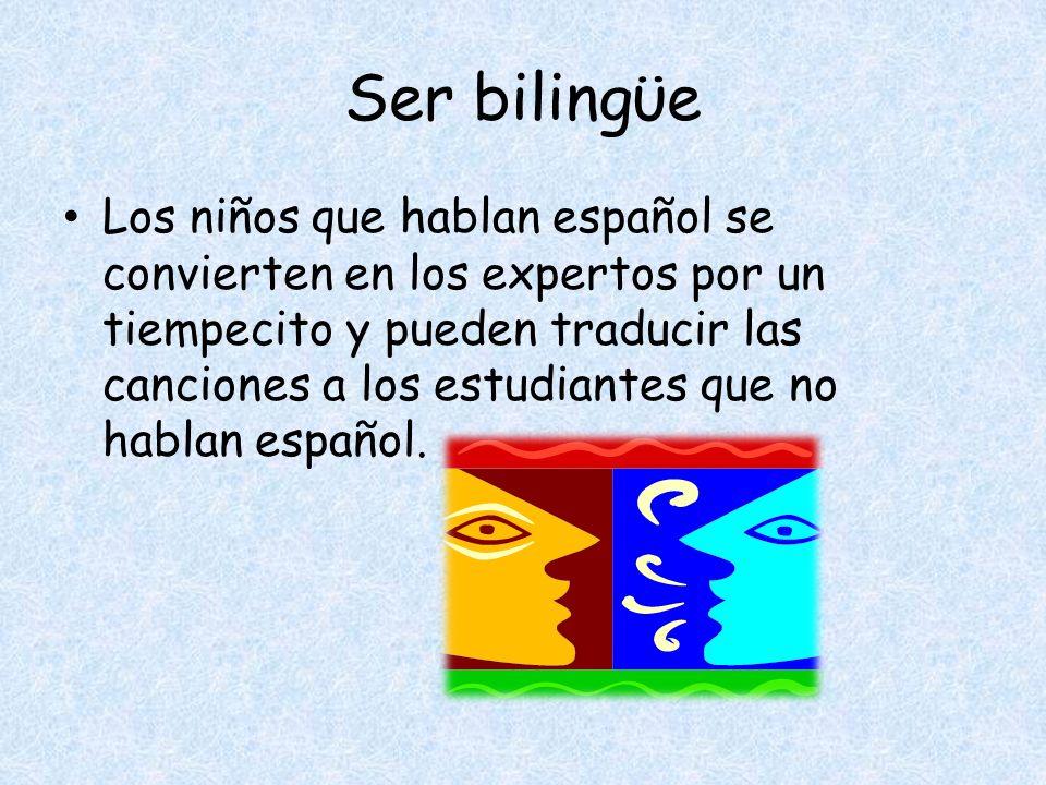 Ser bilingϋe