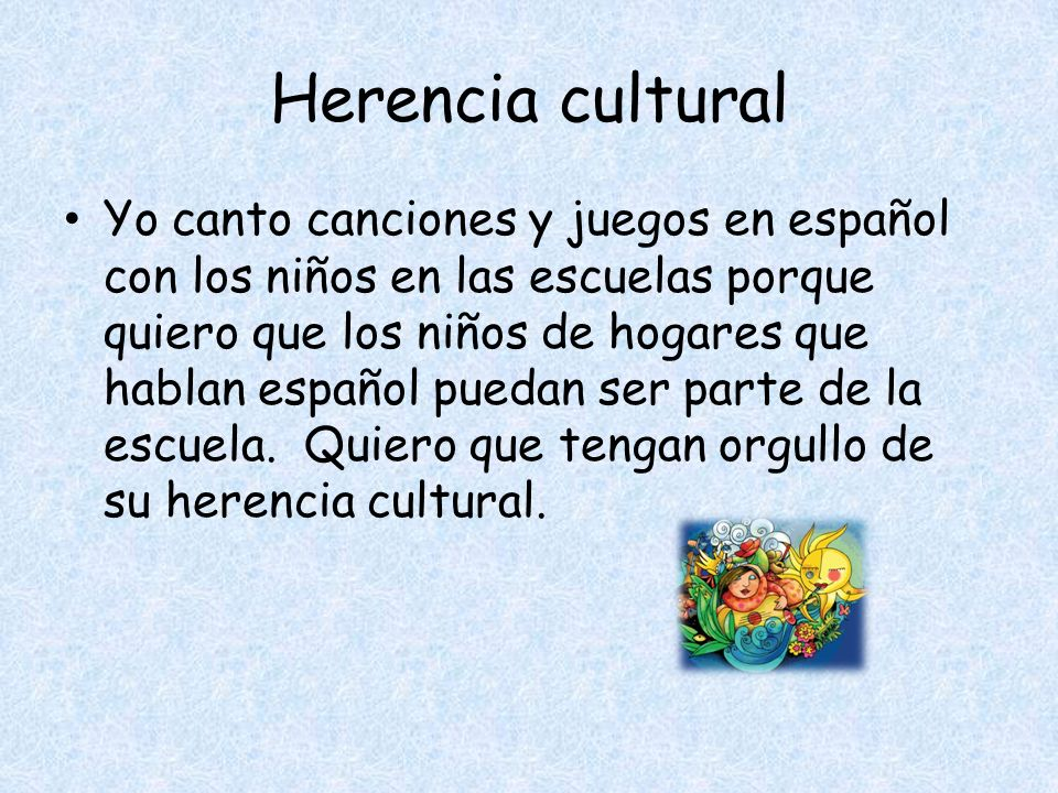 Herencia cultural