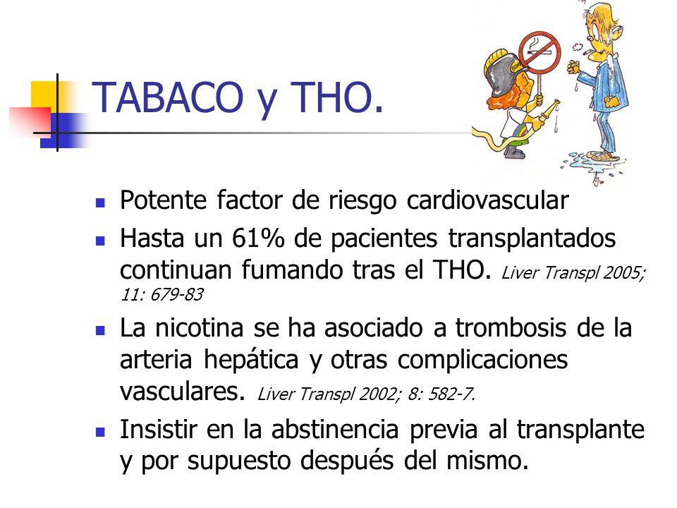 TABACO y THO. Potente factor de riesgo cardiovascular