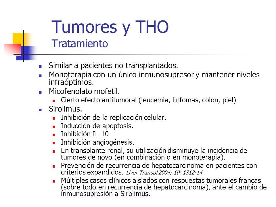 Tumores y THO Tratamiento