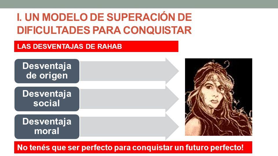 I. UN MODELO DE SUPERACIÓN DE DIFICULTADES PARA CONQUISTAR