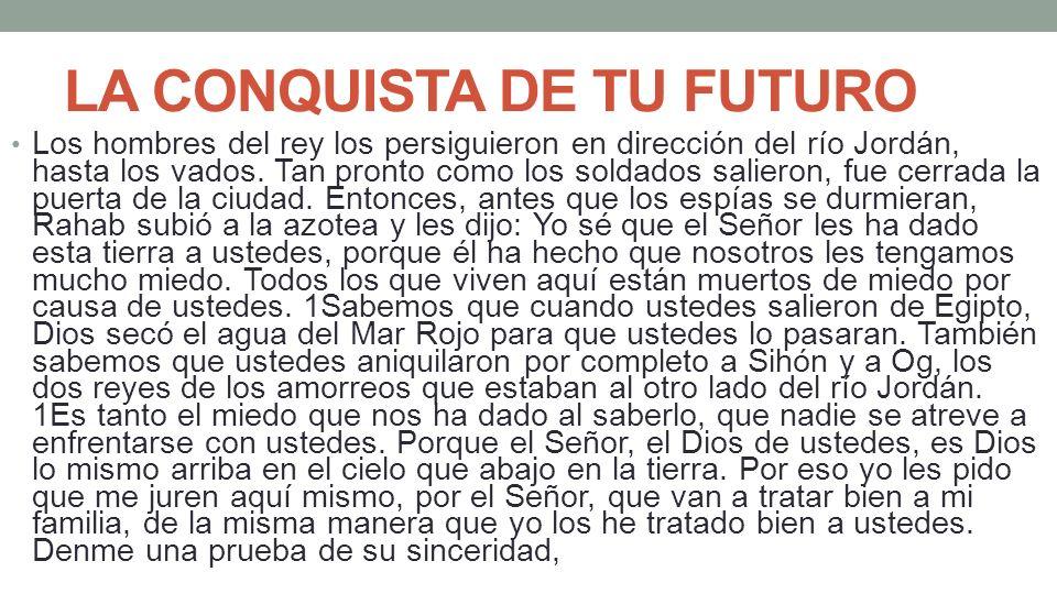 LA CONQUISTA DE TU FUTURO