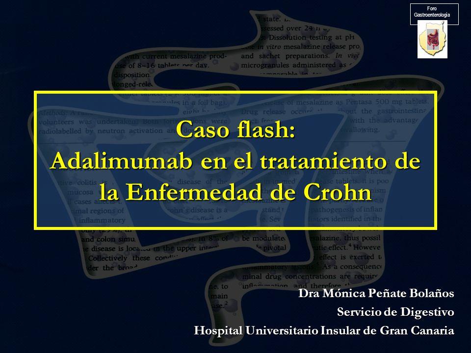 Caso flash: Adalimumab en el tratamiento de la Enfermedad de Crohn