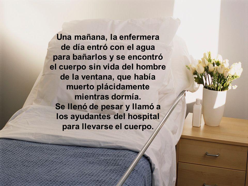 Una mañana, la enfermera