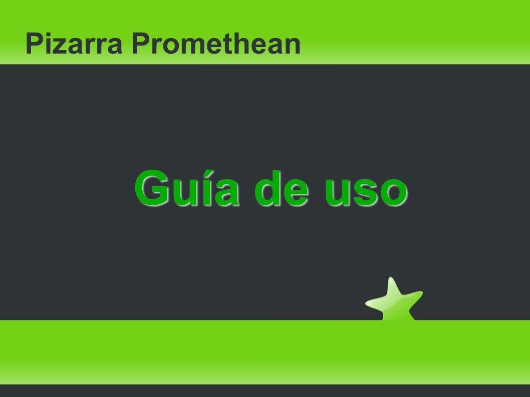 Pizarra Promethean Guía de uso