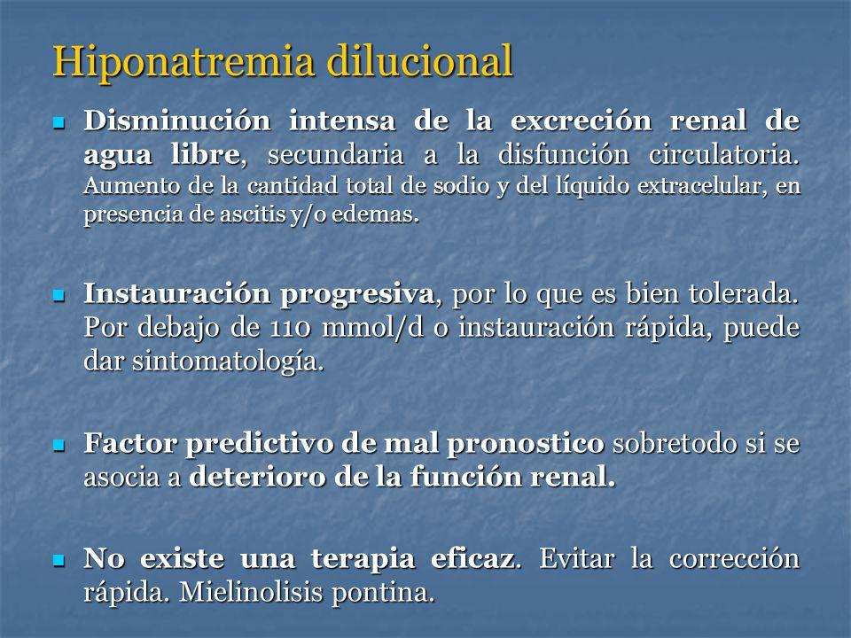 Hiponatremia dilucional