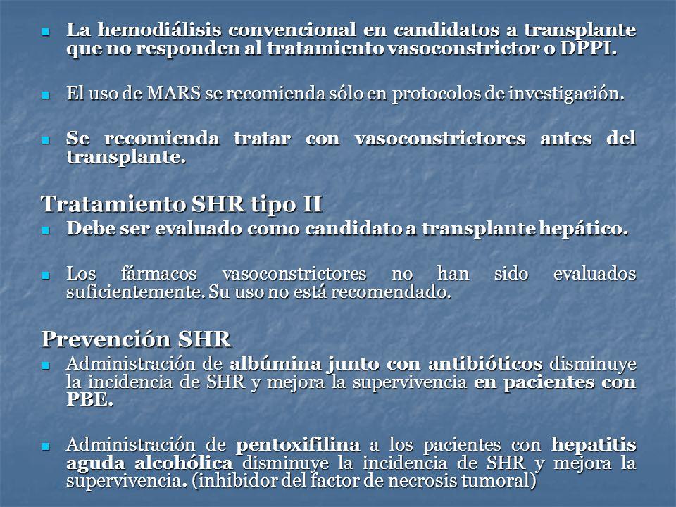 Tratamiento SHR tipo II