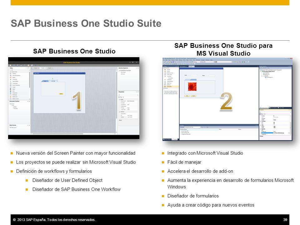 SAP Business One Studio Suite