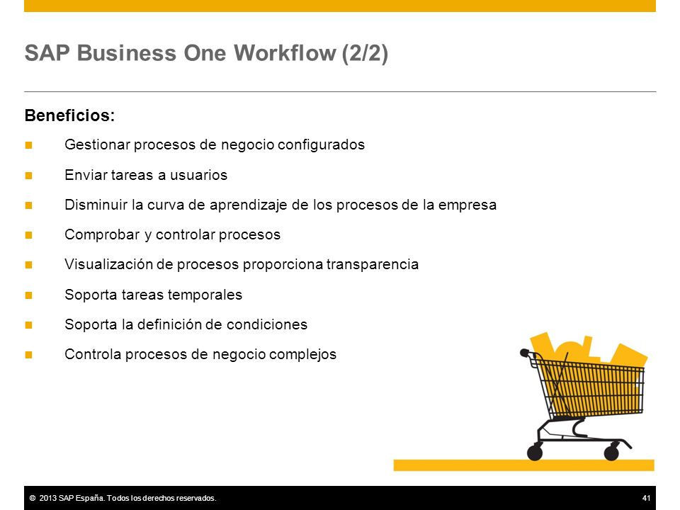 SAP Business One Workflow (2/2)