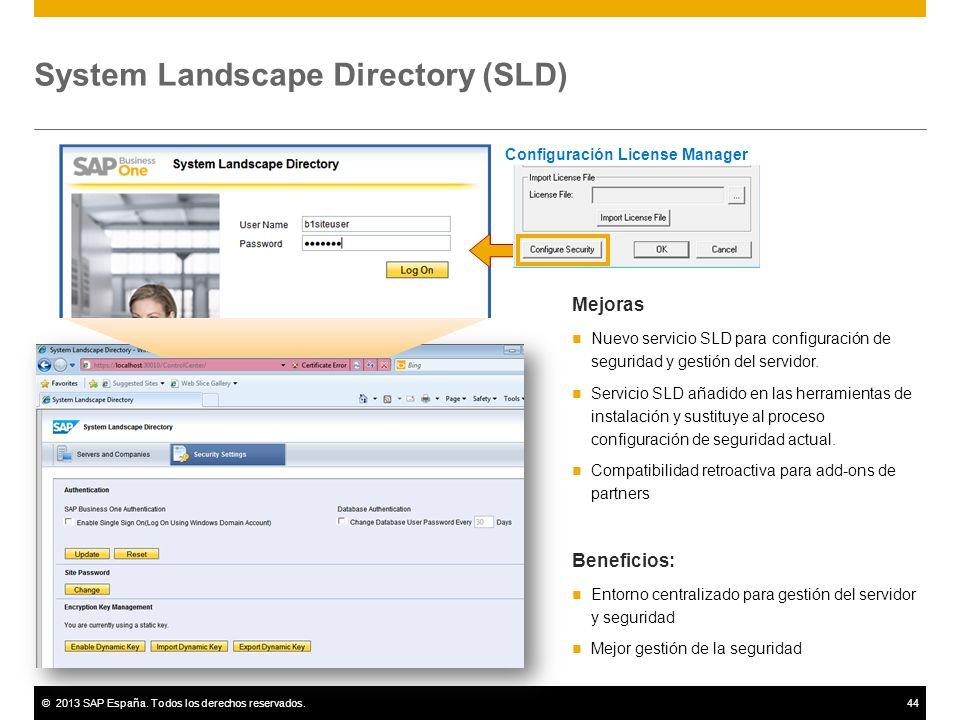 System Landscape Directory (SLD)