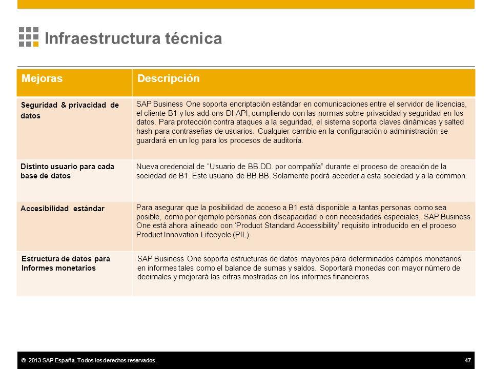 Infraestructura técnica