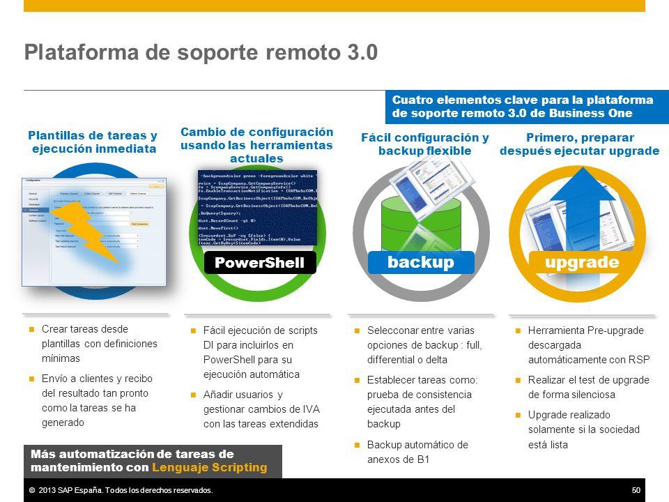 Plataforma de soporte remoto 3.0