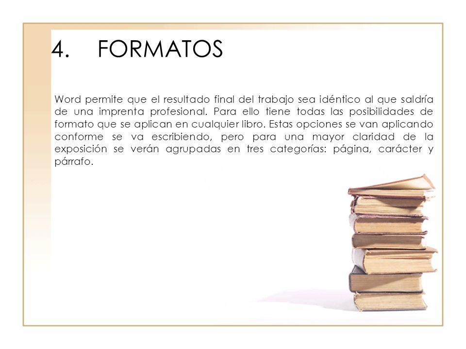4. FORMATOS