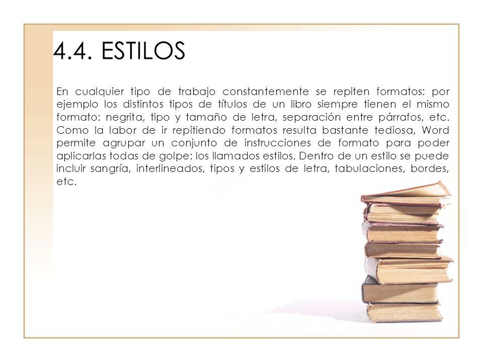 4.4. ESTILOS