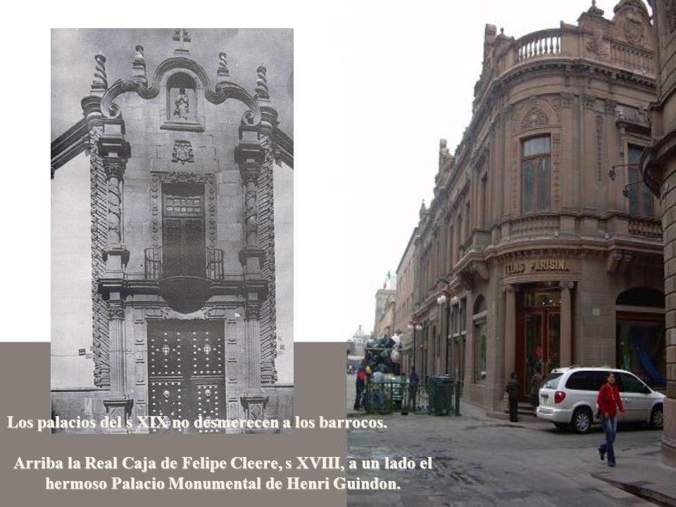 Los palacios del s XIX no desmerecen a los barrocos.