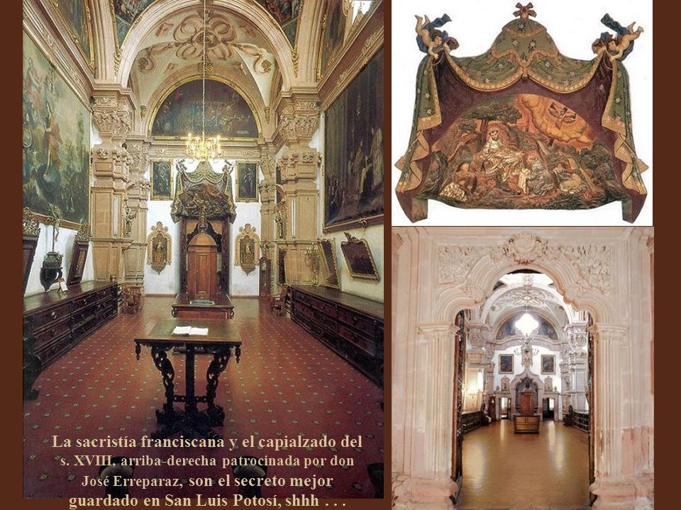 La sacristía franciscana y el capialzado del s