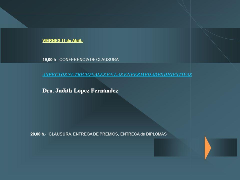 Dra. Judith López Fernández