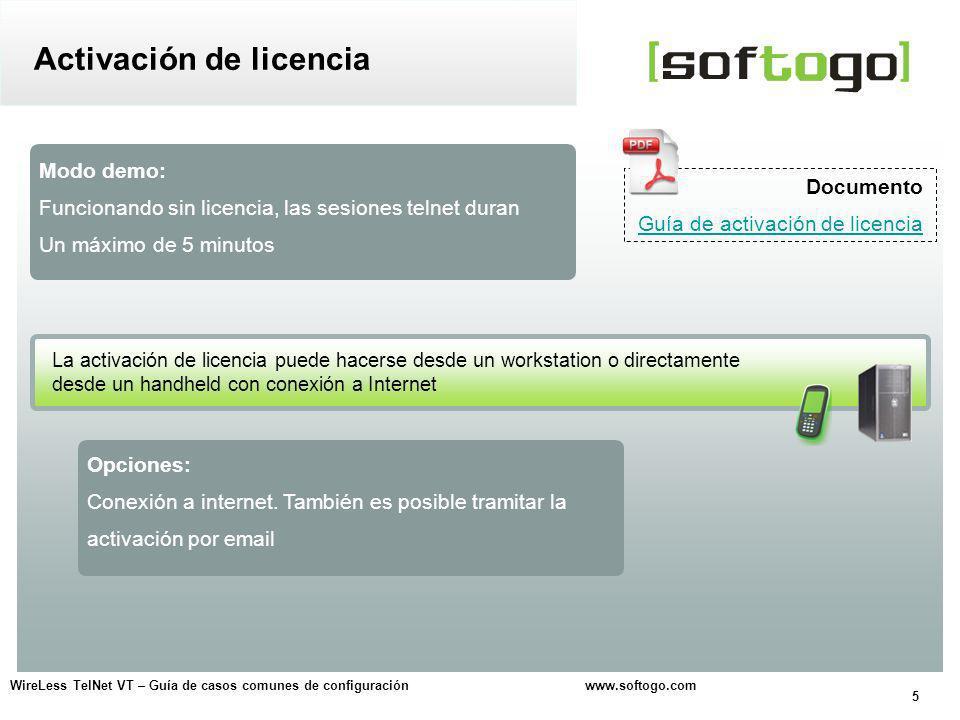 Activación de licencia