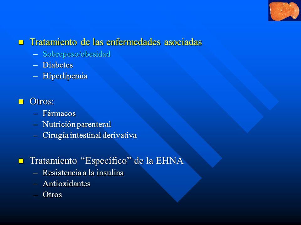 Tratamiento de las enfermedades asociadas
