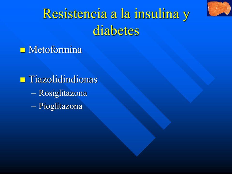 Resistencia a la insulina y diabetes